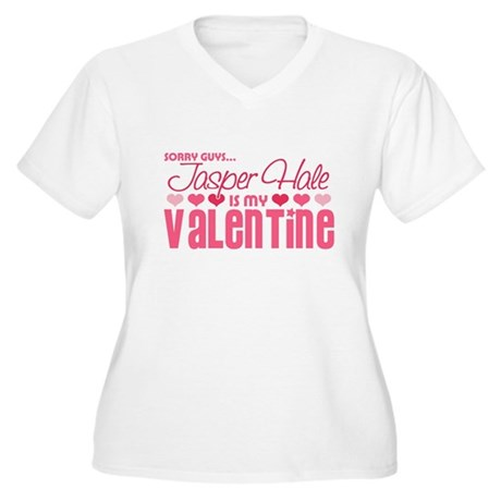 Jasper Twilight Valentine Women's Plus Size V-Neck