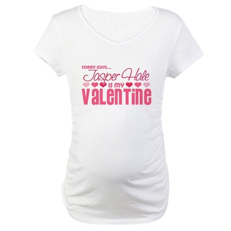 Jasper Twilight Valentine Maternity T-Shirt