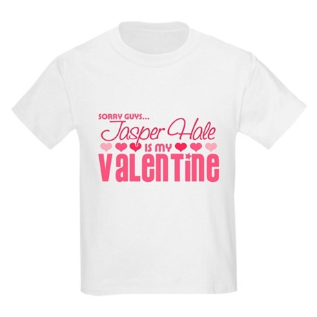 Jasper Twilight Valentine Kids Light T-Shirt