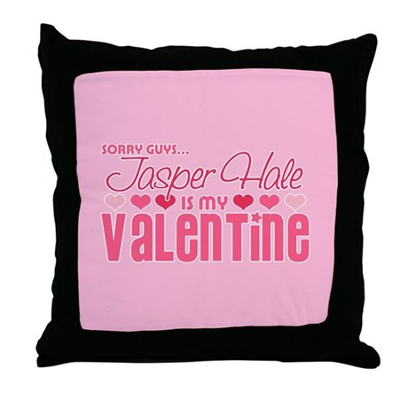 Jasper Twilight Valentine Throw Pillow