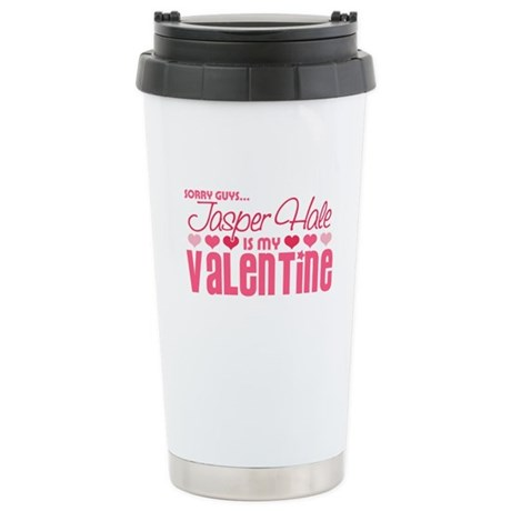 Jasper Twilight Valentine Ceramic Travel Mug