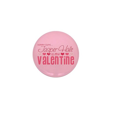 Jasper Twilight Valentine Mini Button