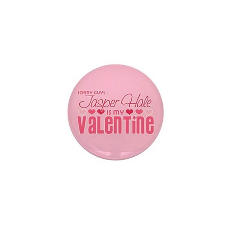 Jasper Twilight Valentine Mini Button (100 pack)