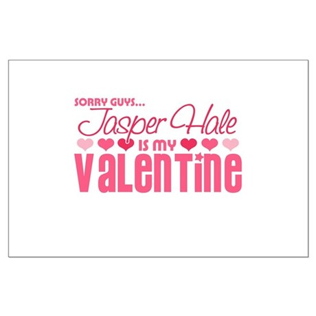 Jasper Twilight Valentine Large Poster