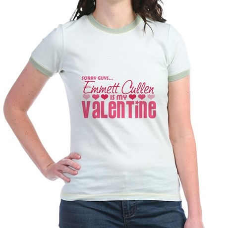 Emmett Twilight Valentine Jr. Ringer T-Shirt