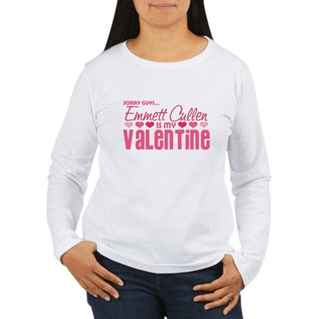 Emmett Twilight Valentine Women's Long Sleeve T-Sh
