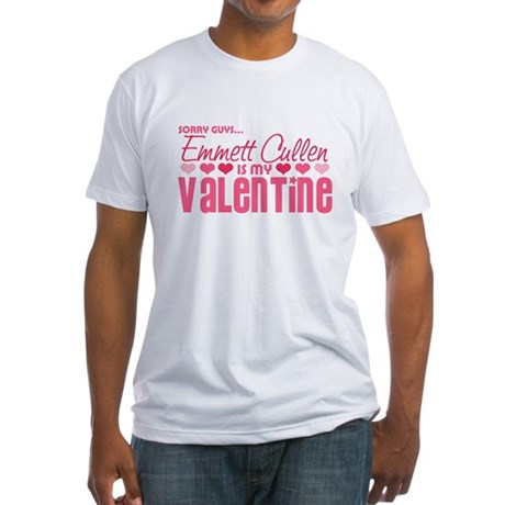 Emmett Twilight Valentine Fitted T-Shirt