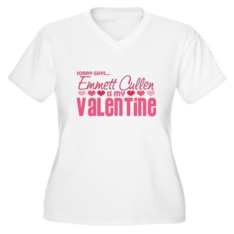 Emmett Twilight Valentine Women's Plus Size V-Neck