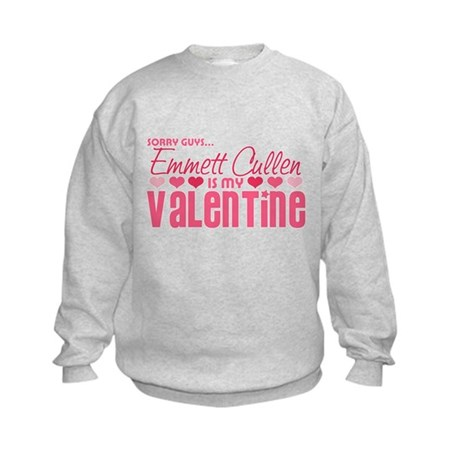 Emmett Twilight Valentine Kids Sweatshirt