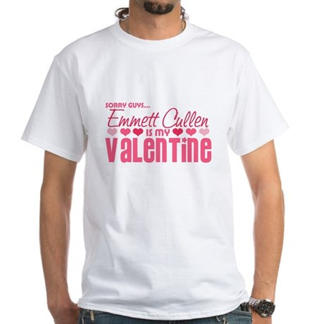 Emmett Twilight Valentine White T-Shirt