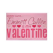 Emmett Twilight Valentine Rectangle Magnet