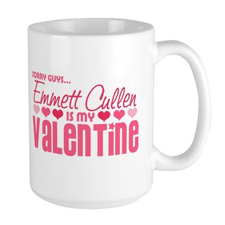 Emmett Twilight Valentine Large Mug