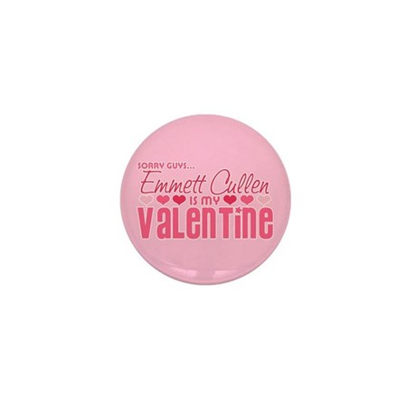 Emmett Twilight Valentine Mini Button