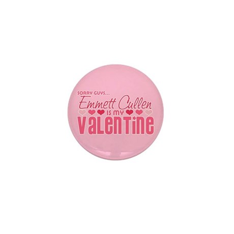 Emmett Twilight Valentine Mini Button (10 pack)