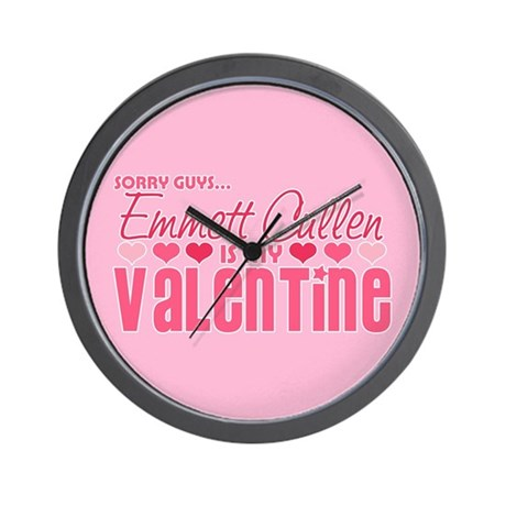 Emmett Twilight Valentine Wall Clock