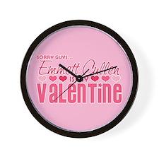 Emmett Twilight Valentine Wall Clock