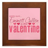Emmett Twilight Valentine Framed Tile