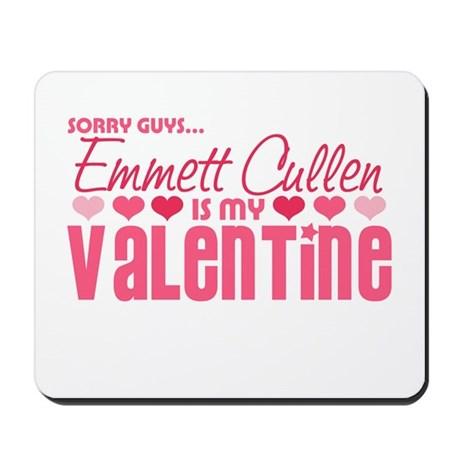 Emmett Twilight Valentine Mousepad