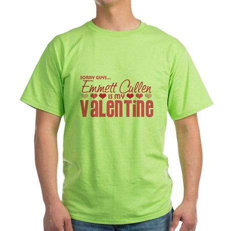 Emmett Twilight Valentine Green T-Shirt