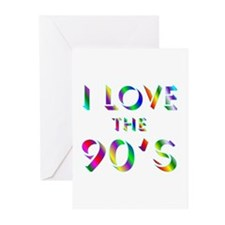 Love 90's Greeting Cards (Pk of 10)