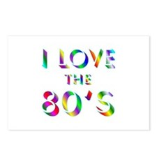 Love 80's Postcards (Package of 8)
