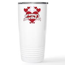 GRANNY'S SWEETHEART Ceramic Travel Mug