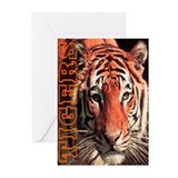 Tigers Greeting Cards (Pk of 20)