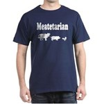 Meatetarian Navy T-Shirt