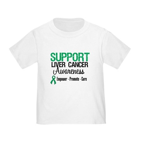 Support LiverCancerAwareness Toddler T-Shir