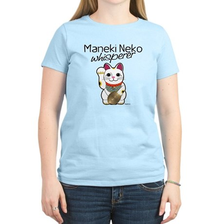 Maneki Neko Whisperer Women's Light T-Shirt