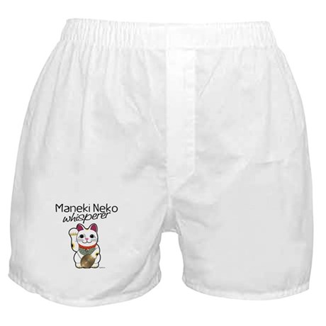 Maneki Neko Whisperer Boxer Shorts