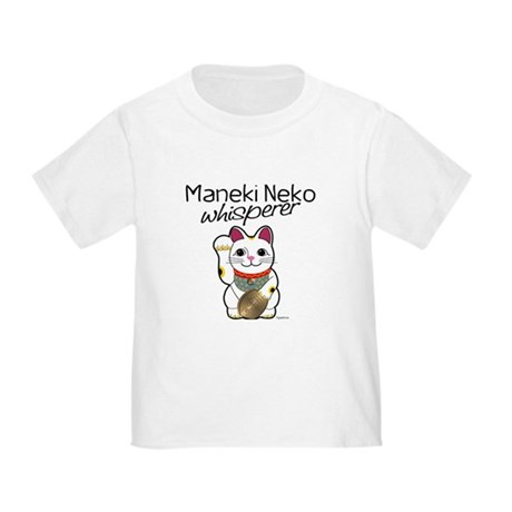 Maneki Neko Whisperer Toddler T-Shirt