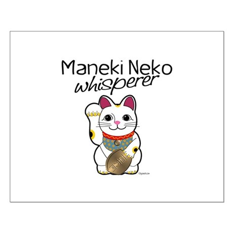 Maneki Neko Whisperer Small Poster
