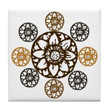 Lotus Bloom - Tile Coaster