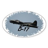 B-17 Oval Sticker (10 pk)