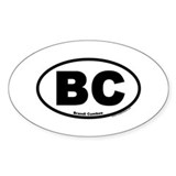 Brandi Cumbee Oval Decal