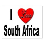I Love South Africa Small Poster