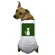 Cat Restroom: Cat Only Dog T-Shirt