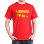 Meatetarian Gold/Red T-Shirt