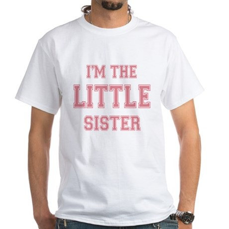 Little Sister White T-Shirt