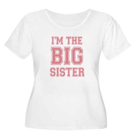 Big Sister Women's Plus Size Scoop Neck T-Shirt