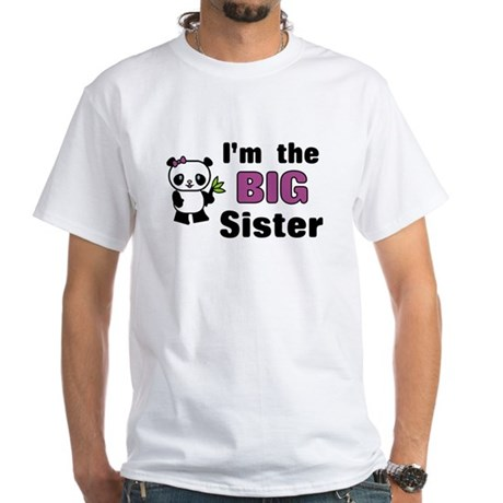I'm the Big Sister White T-Shirt