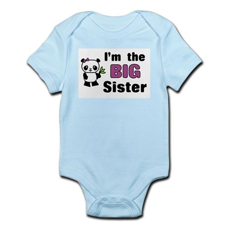 I'm the Big Sister Infant Bodysuit