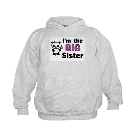 I'm the Big Sister Kids Hoodie