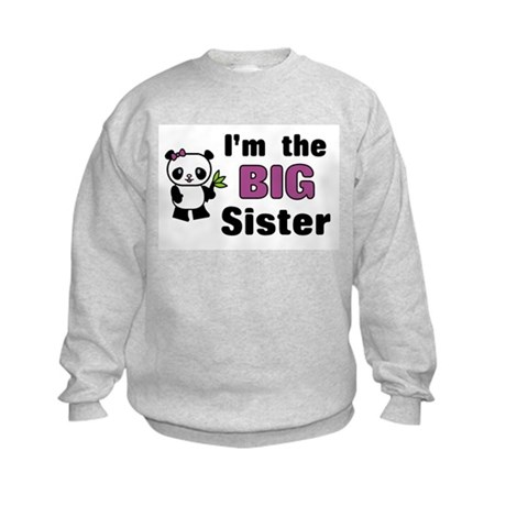 I'm the Big Sister Kids Sweatshirt
