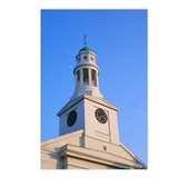 Church Clock Tower Postcards (Package of 8)
