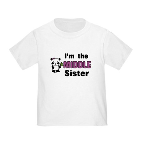 Middle Sister Toddler T-Shirt