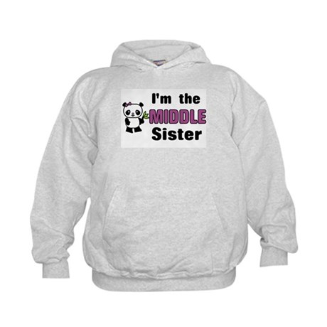 Middle Sister Kids Hoodie
