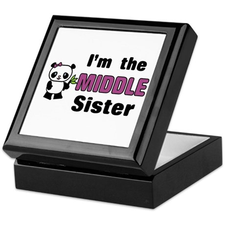 Middle Sister Keepsake Box