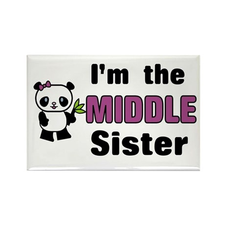 Middle Sister Rectangle Magnet (10 pack)